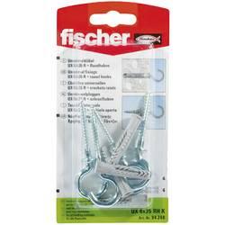 Univerzální hmoždinka Fischer UX 6 x 35 RH K 94248, Vnější délka 35 mm, Vnější Ø 6 mm, 4 ks