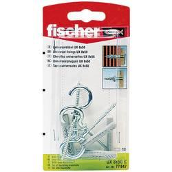 Univerzální hmoždinka Fischer UX 8 x 50 RH K 94249, Vnější délka 50 mm, Vnější Ø 8 mm, 4 ks