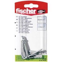 Univerzální hmoždinka Fischer UX 6 x 35 WH K 94258, Vnější délka 35 mm, Vnější Ø 6 mm, 4 ks