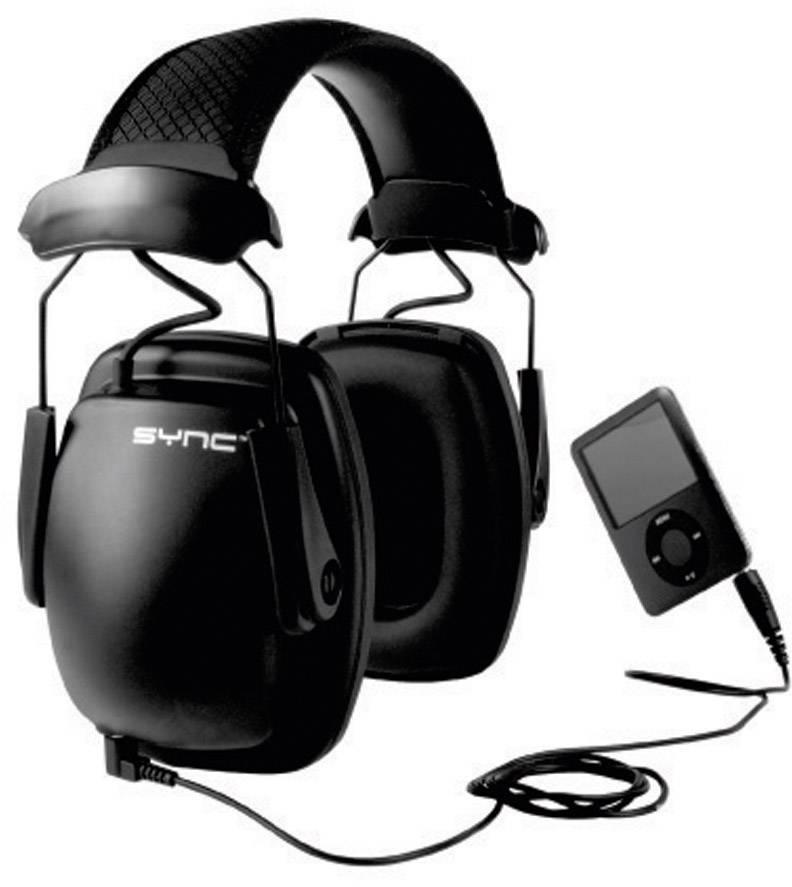 Mušľový chránič sluchu Howard Leight Sync Stereo 1030111, 31 dB, 1 ks