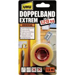 Oboustranná lepicí páska UHU 46820, (d x š) 1.5 m x 19 mm, 1 ks