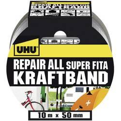 Páska se skelným vláknem UHU 48145, (d x š) 10 m x 50 mm, kaučuk, stříbrná, 1 ks