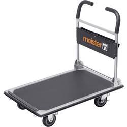 Plošinový vozík Meister Werkzeuge 8985630, max.nosnosť: 300 kg, oceľ