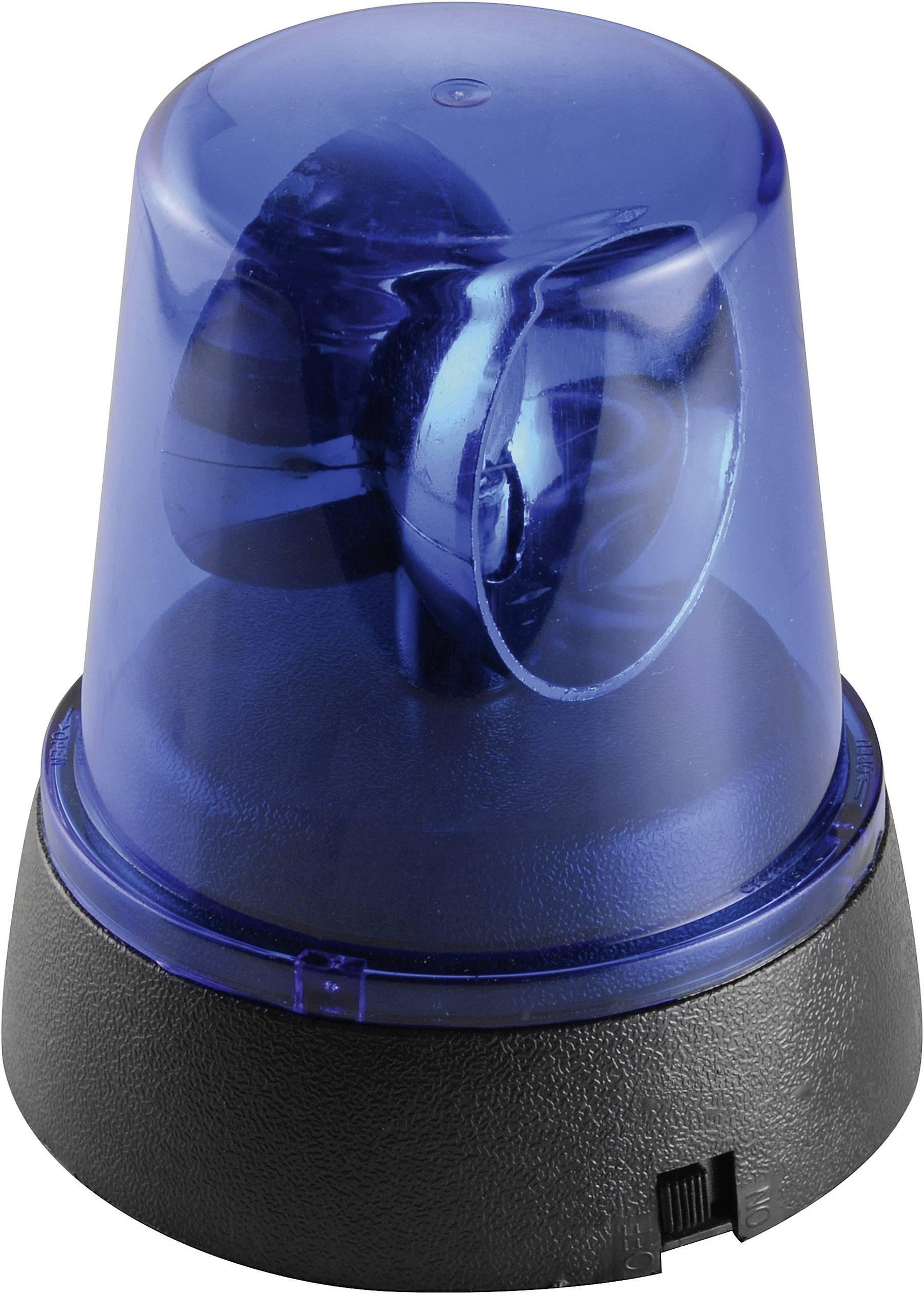 Mini LED maják, modrý