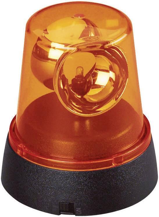 Mini LED maják, 115 mm, žlutá/oranžová