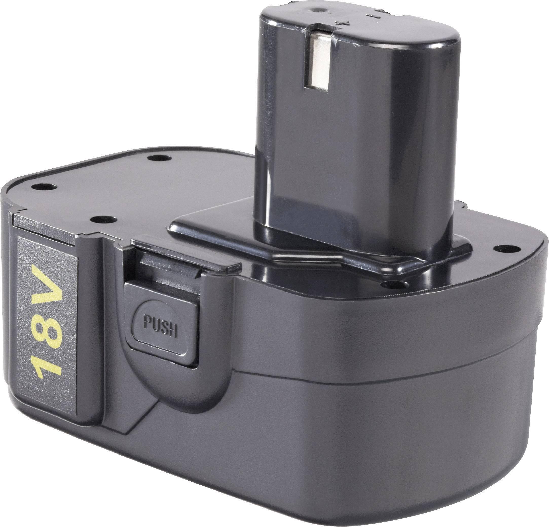 Náhradní akumulátor pro elektrické nářadí, Brüder Mannesmann M1799-18-E, 18 V, 1.2 Ah, Ni-Cd
