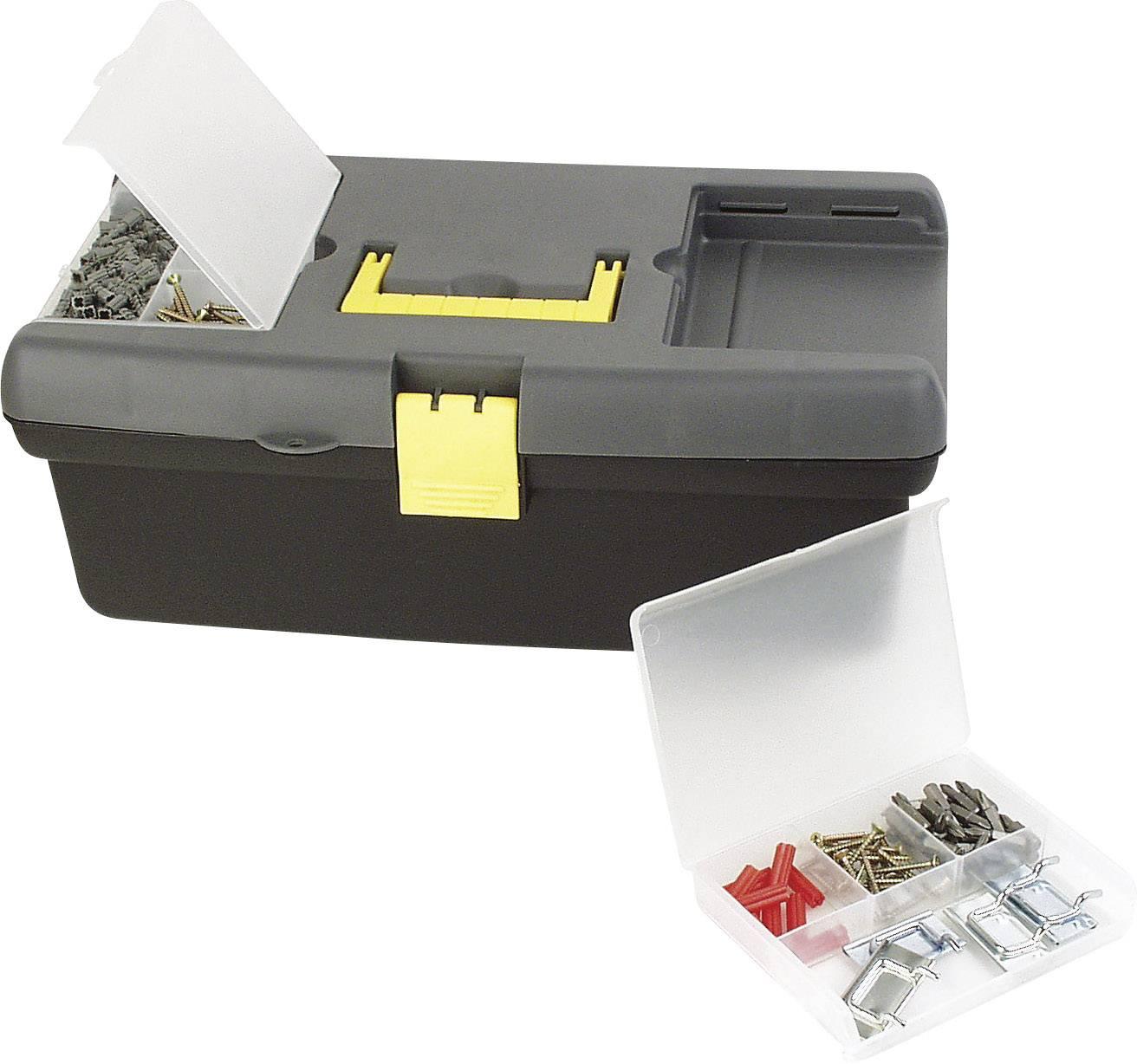 Box na nářadí s vyjímatelnými zásobníky Brüder Mannesmann 41510, (d x š x v) 405 x 241 x 152 mm, plast
