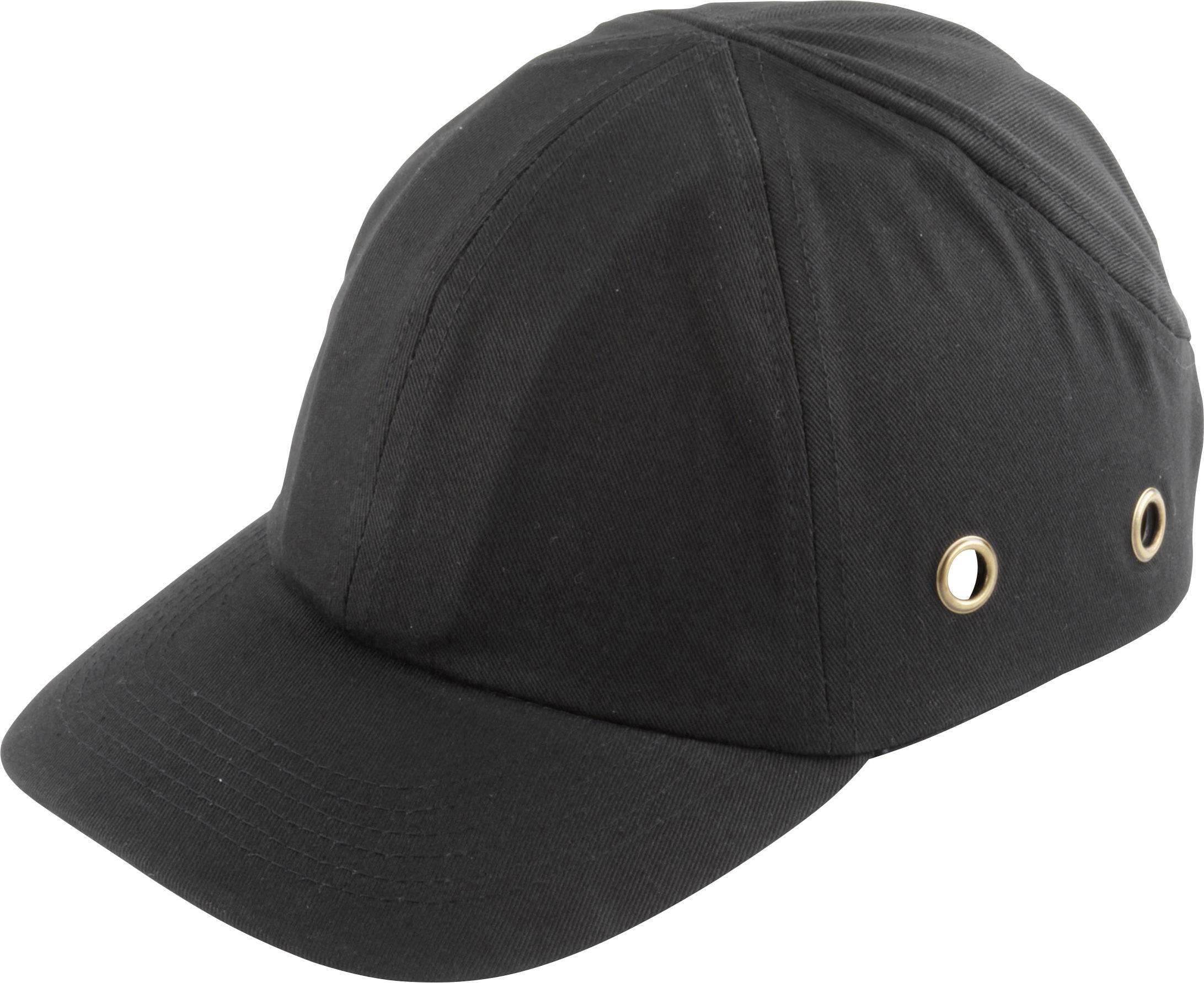 Pracovní čepice s kšiltem Wolfcraft 4858000, černá