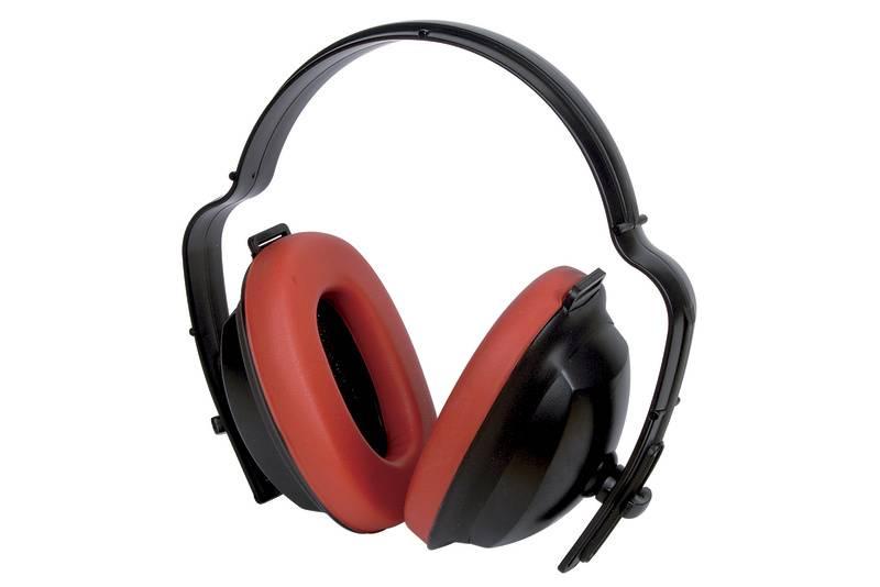 Mušlový chránič sluchu Wolfcraft Standard 4868000, 19 dB, 1 ks