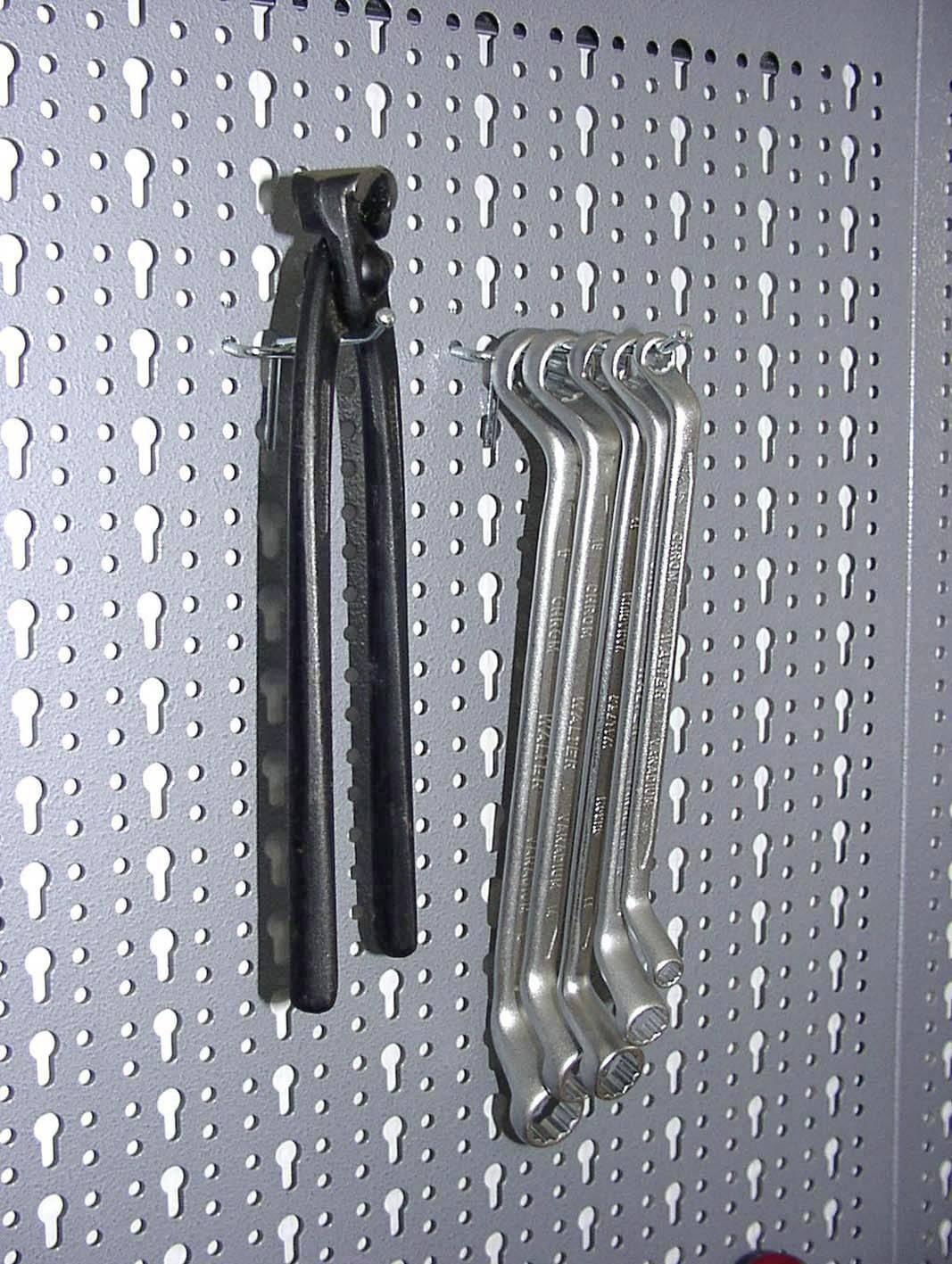 Kovové háčky Küpper 72000, 12 ks