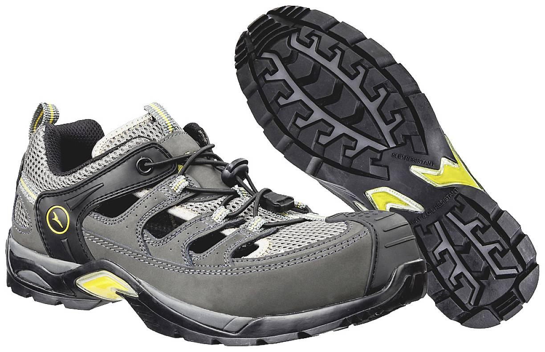 Bezpečnostní sandále S1P Albatros Marathon XTS Low S1P HRO 641550, vel.: 45, černá, šedá, 1 pár