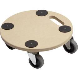 Prepravná plošinka s kolieskami Meister Werkzeuge 0821360, max.nosnosť: 150 kg, drevo