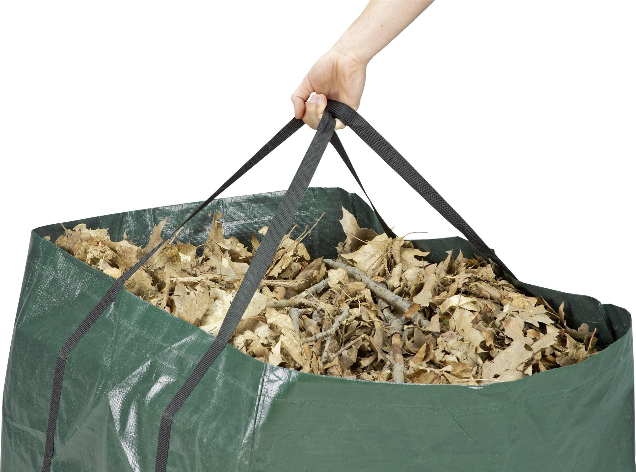 Záhradné vrece na odpad Meister Werkzeuge 9960990, 245 l, tmavozelená