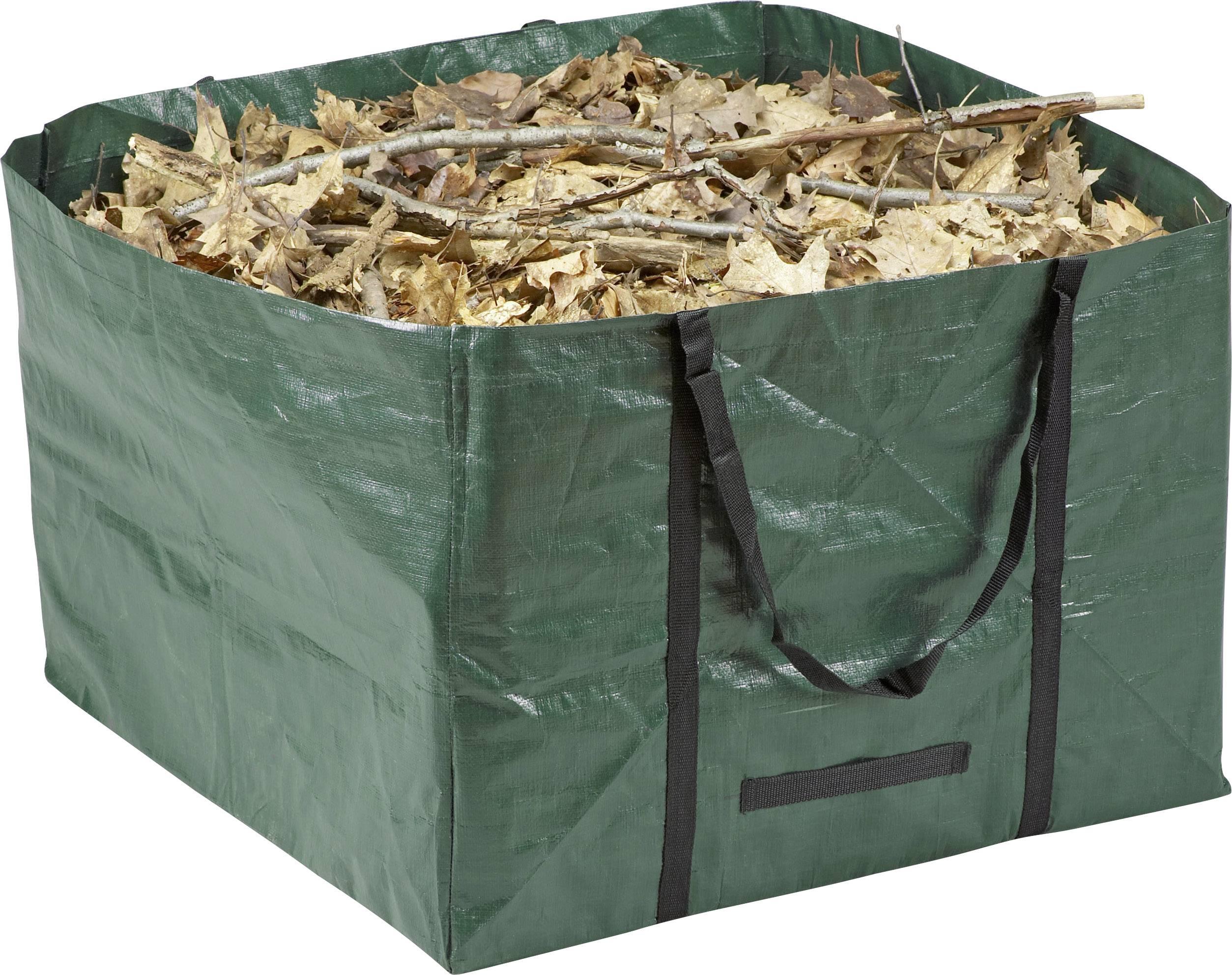 Zahradní pytel na odpad Meister Werkzeuge 9960990, 245 l, tmavě zelená