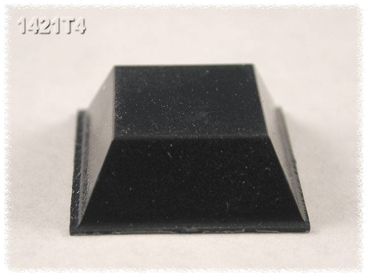 Sada gumových nožiček Hammond Electronics 1421T4, 20,5 mm, 24 ks