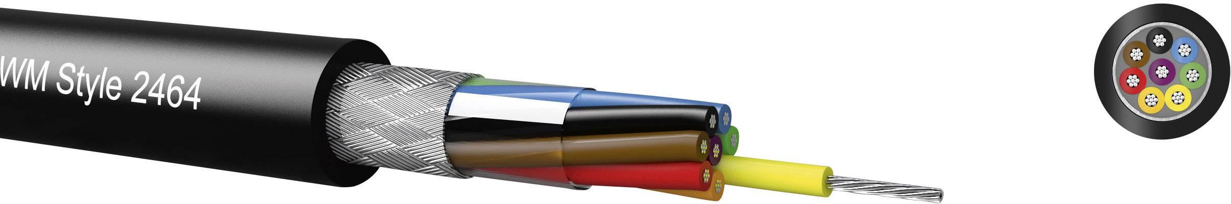 Riadiaci kábel Kabeltronik LiYCY 96162409, 16 x 0.22 mm², vonkajší Ø 7.80 mm, 300 V, metrový tovar, čierna