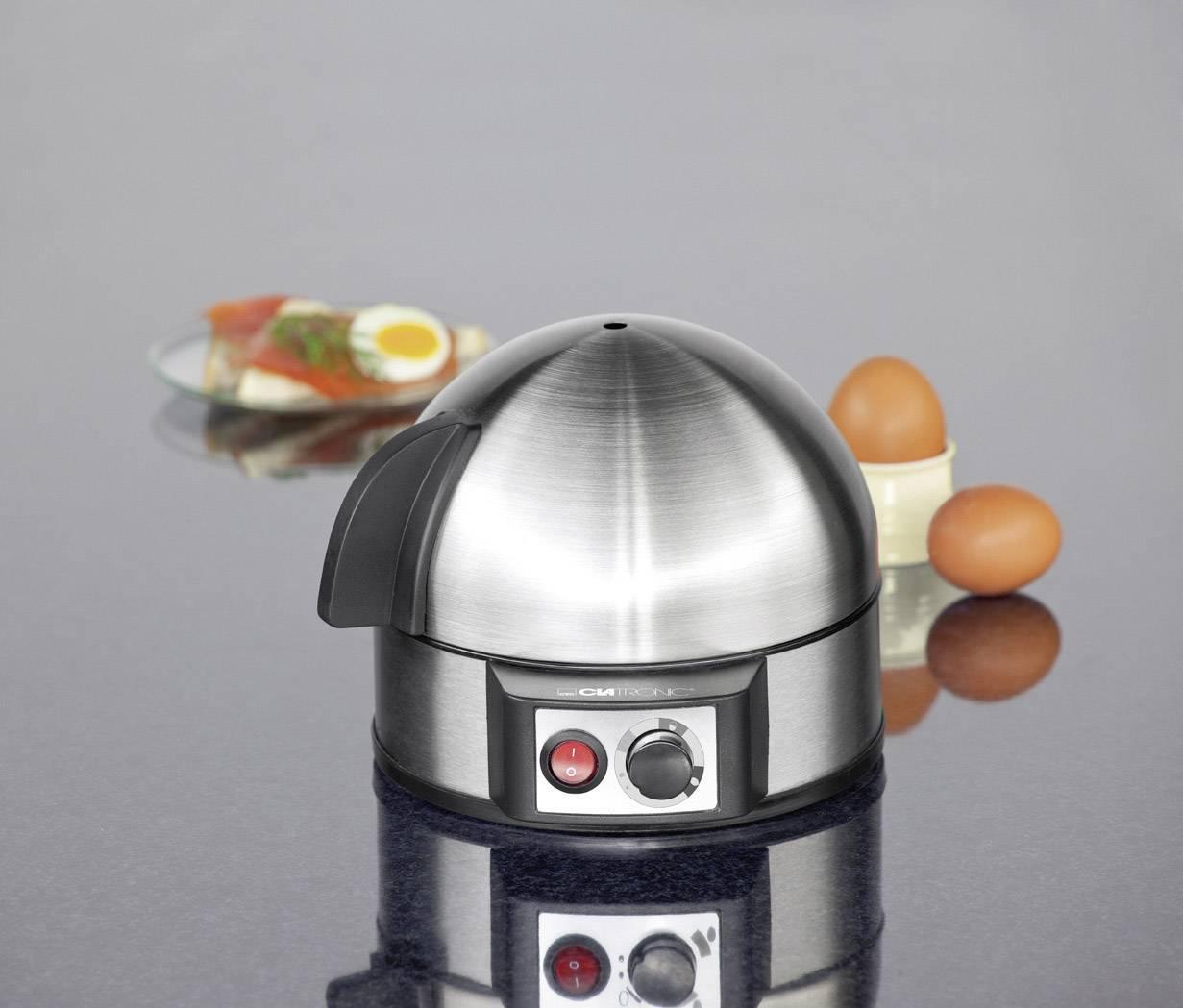 Varič na vajíčka Clatronic EK3321, nerezová oceľ kartáčovaná