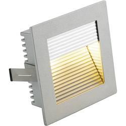 Vestavné svítidlo SLV Flat Frame Curve 112772, max. 10 W , stříbrná/šedá