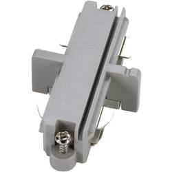 Podélná spojka SLV pro 1fázový HV kolejnicový systém 143092, 230 V, stříbrná/šedá