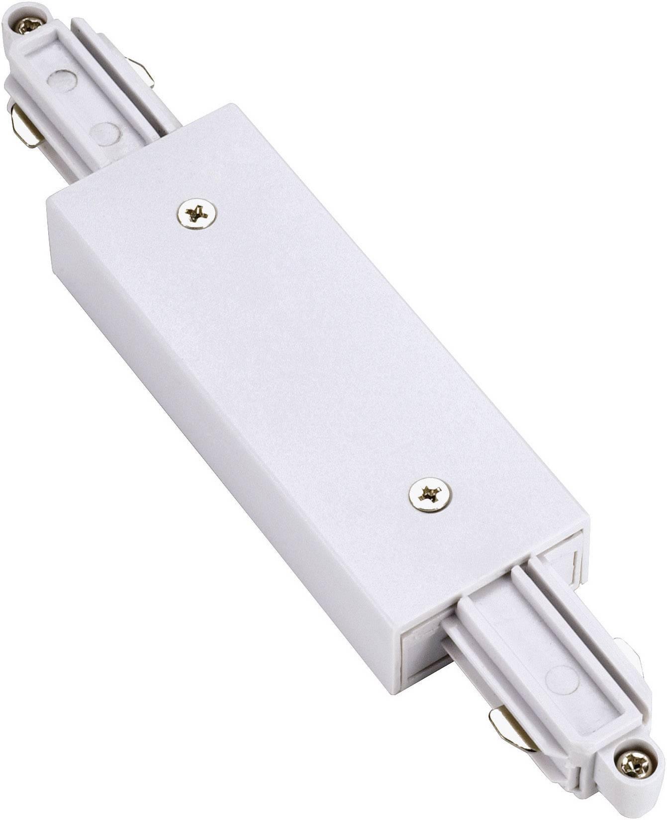 Podélná spojka SLV pro 1fázový HV kolejnicový systém 143101, 230 V, bílá