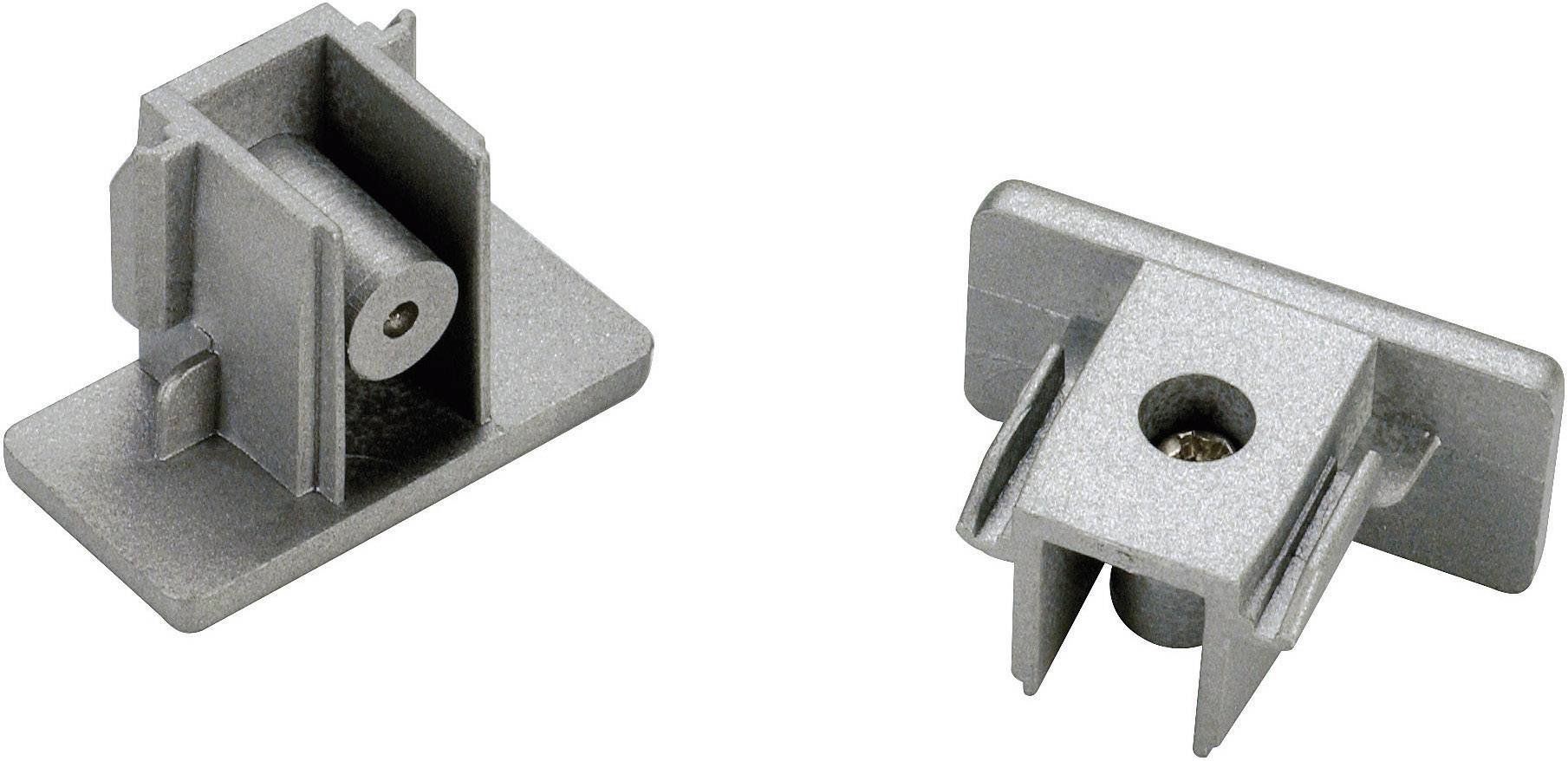 Koncové krytky pre 1-fázové prípojnice VN 143132, strieborné