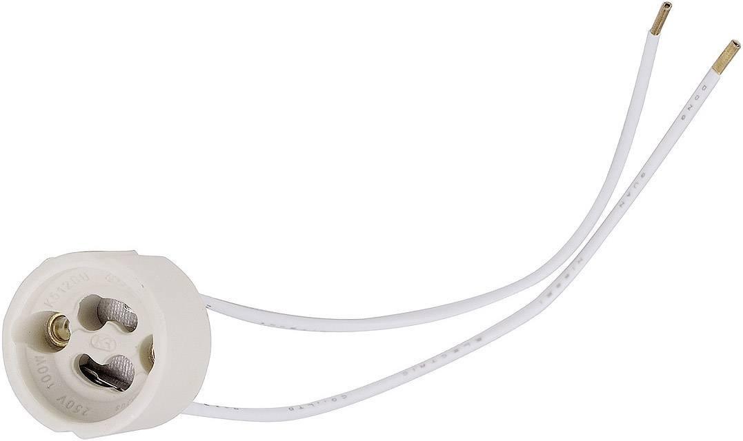Objímka žiarovky GU10, GZ10 SLV 955135, 230 V, biela