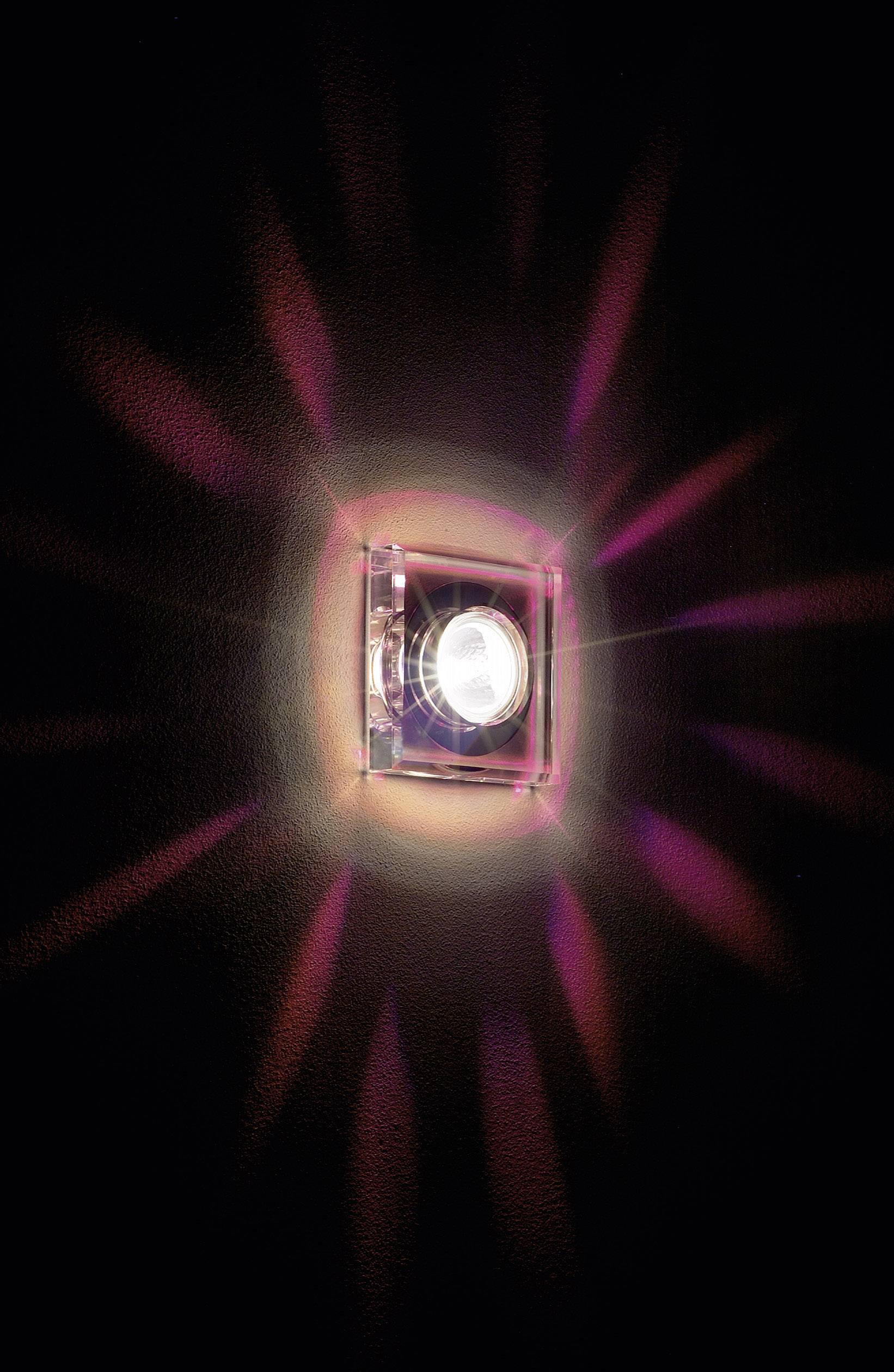 Nástenné a stropné svietidlo Crystal I