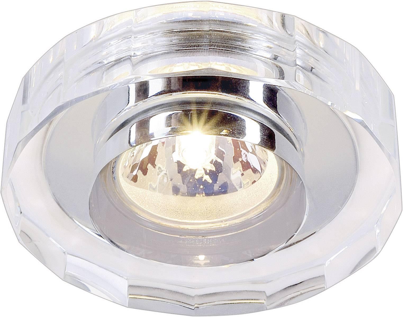 Nástěnné a stropní svítidlo Crystal II 114921, GU5.3, 35 W, chrom/ocel/sklo