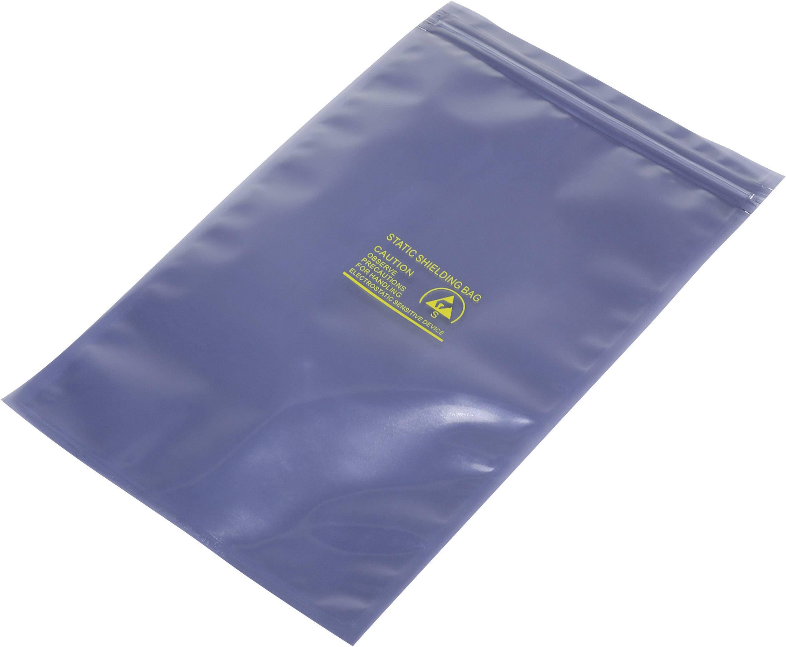 ESD sáčok 490152, (d x š) 250 mm x 150 mm, tienený
