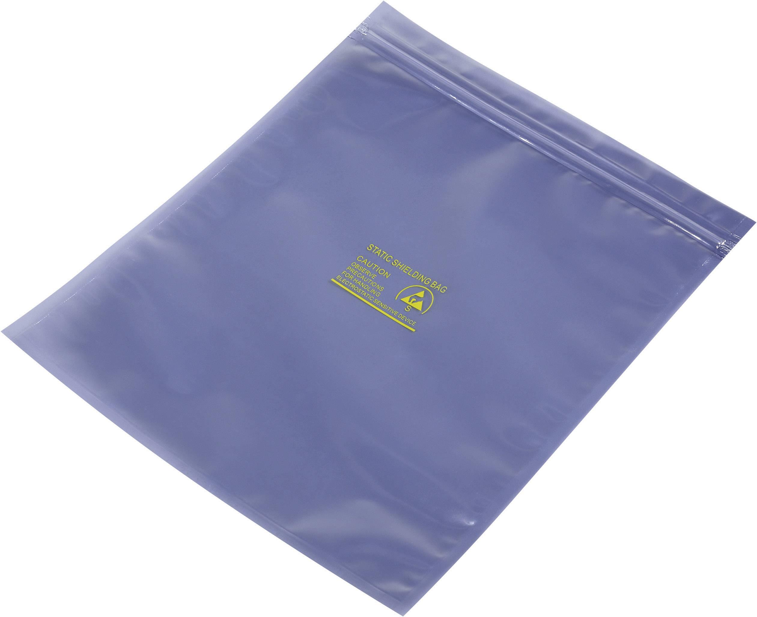 Uzavíratelný ESD stínící sáček, 200 mm x 250 mm