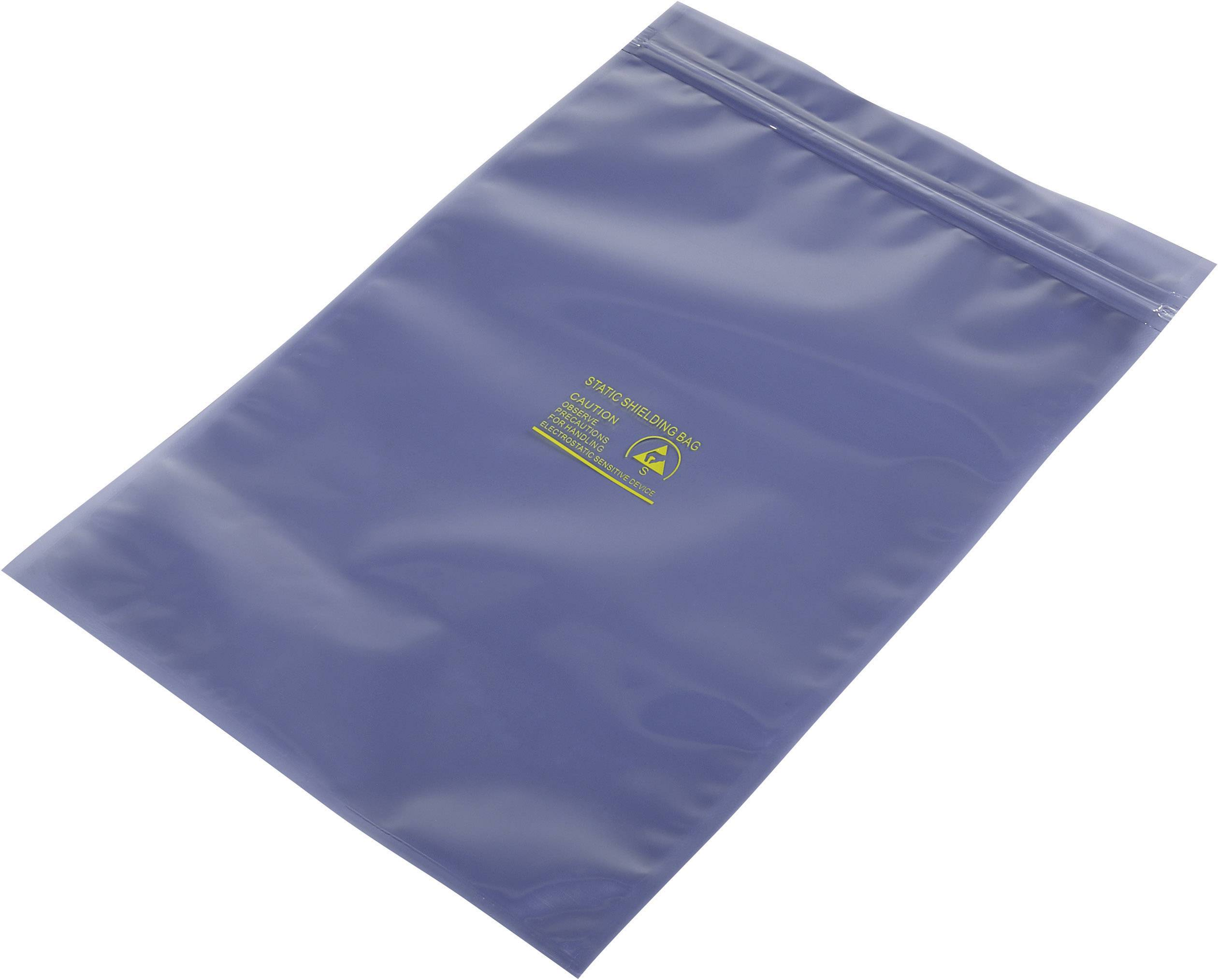 ESD sáčok 490157, (d x š) 300 mm x 200 mm, tienený