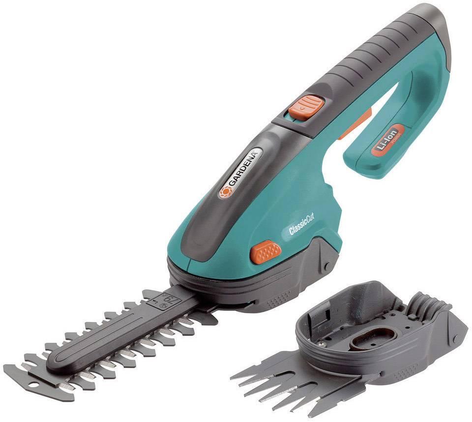 Akumulátorová nůžky na trávu, nůžky na keře + akumulátor Li-Ion akumulátor GARDENA ClassicCut