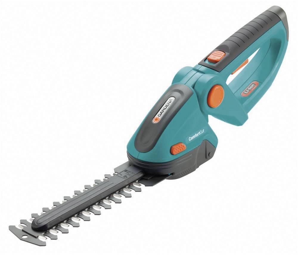 Akumulátorová nůžky na keře + akumulátor Li-Ion akumulátor GARDENA ComfortCut