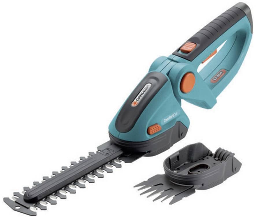 Akumulátorová nůžky na trávu, nůžky na keře + akumulátor Li-Ion akumulátor GARDENA ComfortCut Li 2 Messer