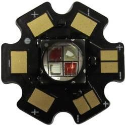 HighPower LED, Star-FR740-10-00-00, 1000 mA, 9,6 V, třešňově červená