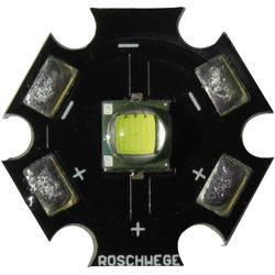 HighPower LED, Star-W6000-10-00-00, 1500 mA, 3,1 V, chladná bílá