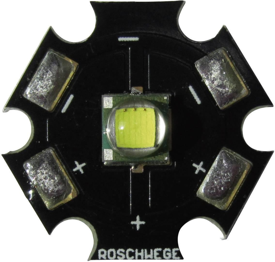 HighPower LED Roschwege 10 W, 280 lm, 3.1 V, 1500 mA, chladná biela