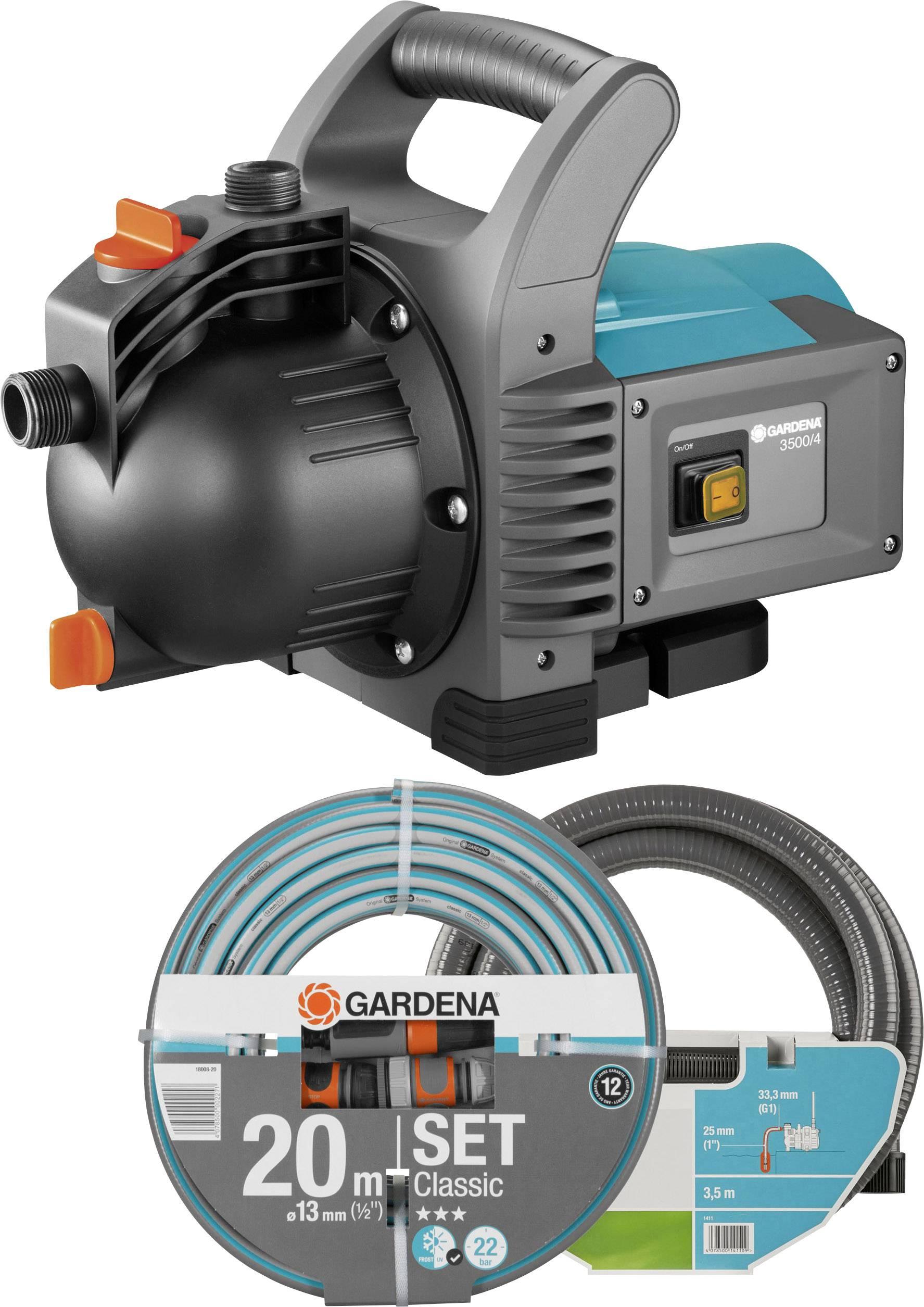 Zahradní čerpadlo GARDENA 3500/4, 3600 l/h, 41 m, 800 W