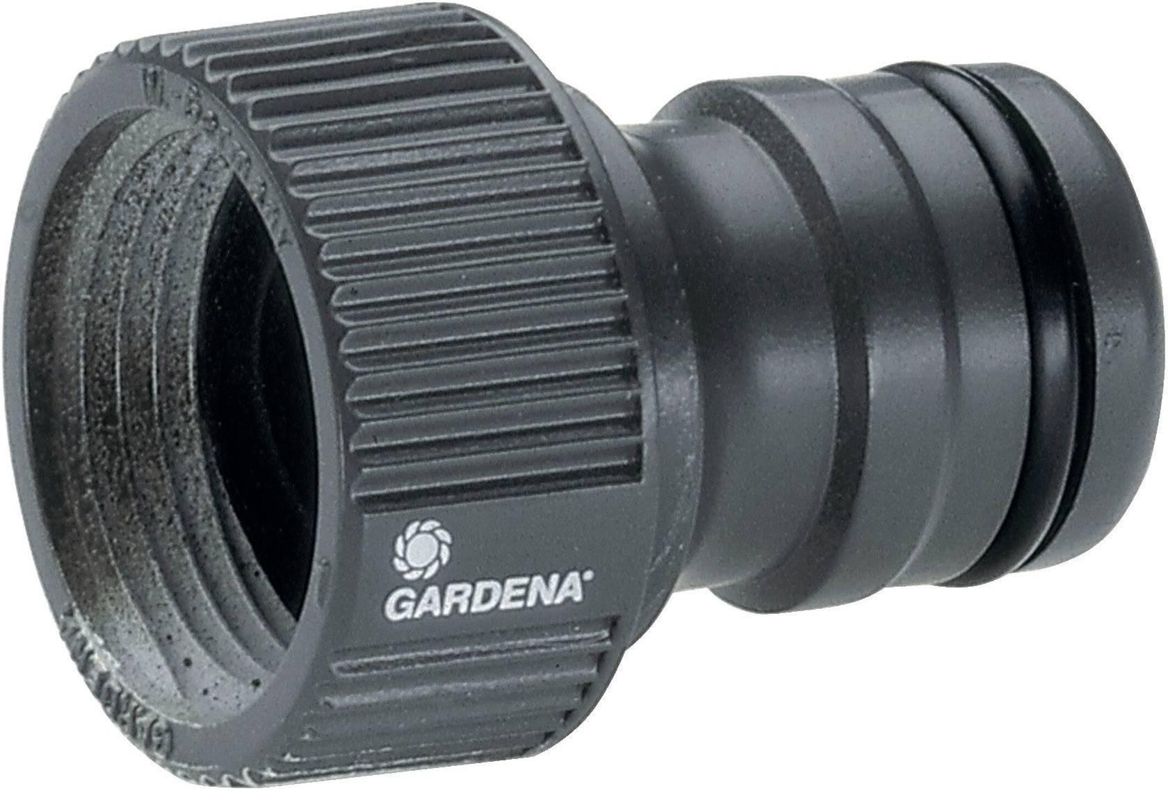 Přípojka se šroubením na vodovodní kohoutek Gardena Profi, 26,5mm (G 3/4) závit