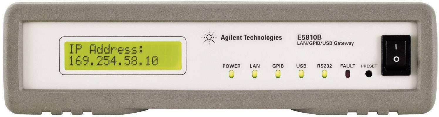 Brána LAN/GPIB/USB Keysight Technologies E5810B vhodná pro zařízení GPIB a RS-232