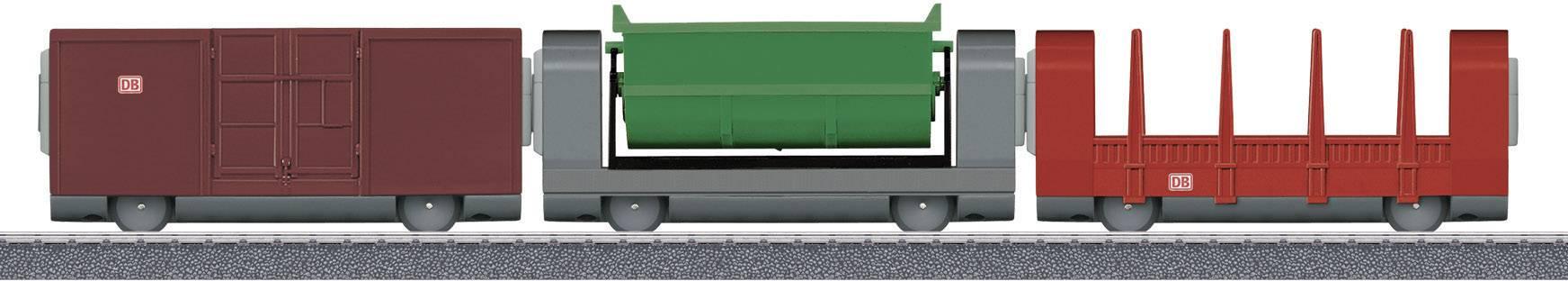 Nákladní vagóny H0 Märklin World 44100, sada 3 ks, magnetické spřáhlo