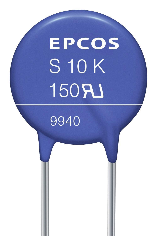 Diskový varistor Epcos B72210S131K101, S10K130, 205 V