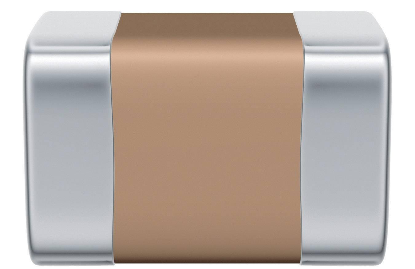 SMD kondenzátor keramický Epcos B37940-K5821-J60, 820 pF, 50 V, 5 %, 2 x 1,25 x 1,25 mm