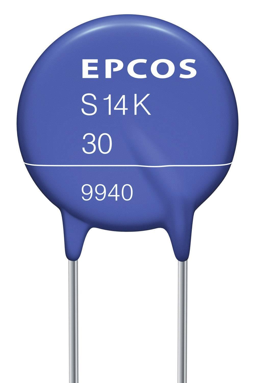 Diskový varistor Epcos B72214S600K101, S14K60, 100 V