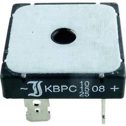 Usměrňov. můstek Diotec B 250/220 - 25, U(RRM) 600 V, U(FM) 1,2 V, 25 A (jen s chladičem)