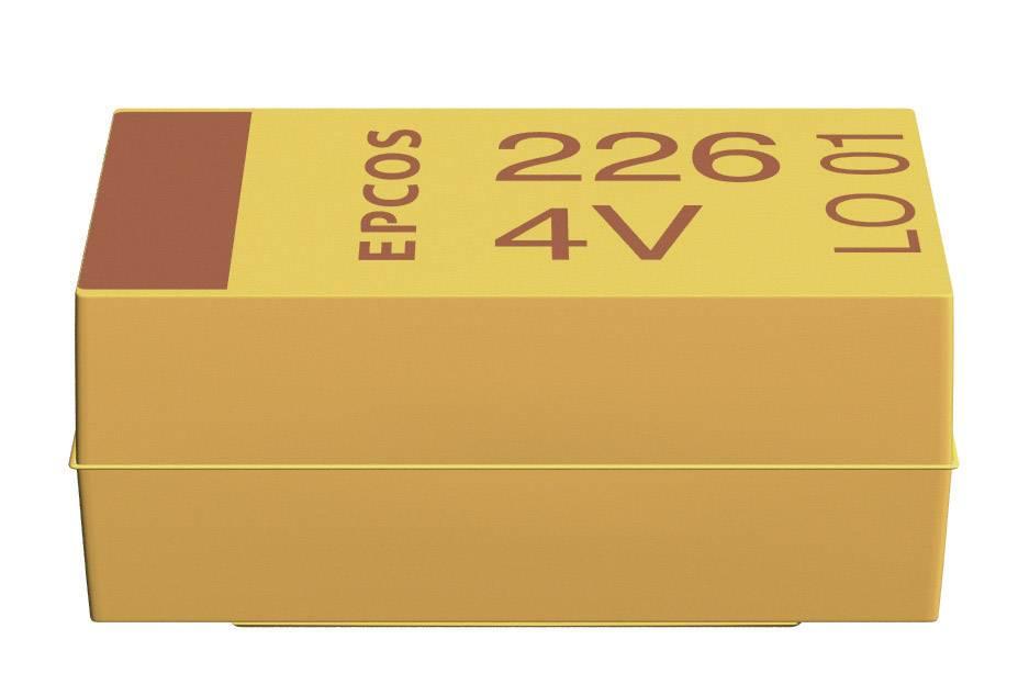 SMD tantalový kondenzátor Kemet plast T491C106K016ZT, 10 µF, 16 V, 10 %, 6 x 3,2 x 2,5 mm