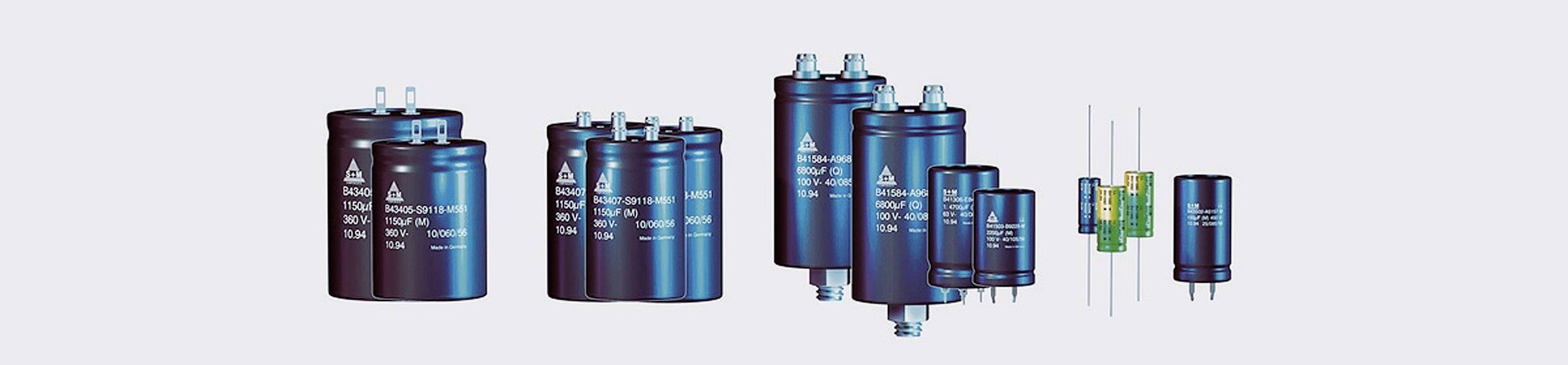 Elektrolytický kondenzátor 10000 µF Epcos B41456-B7109-M