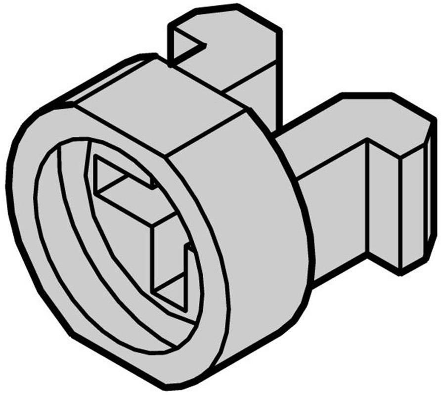 Schroff multipacPRO 21100-464, polyamid, sivá, 1 ks