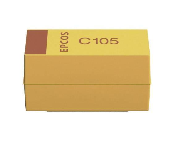 SMD tantalový kondenzátor Kemet plast T491A335K006ZT, 3,3 µF, 35 V, 10 %, 3,2 x 1,6 x 1,6 mm