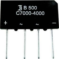 KŘEM. MŮSTK. USM. 4/7 A TRU COMPONENTS TC-B40C7000A 7 A U(RRM) 80 V